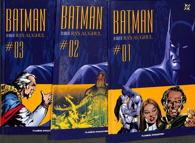BATMAN  RA´S GHUL DC TOMOS 1, 2, 3 | 9999903055204